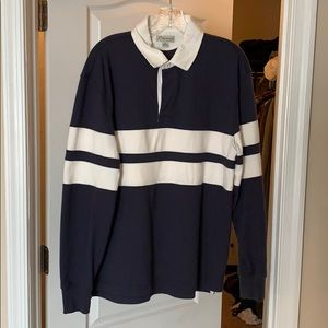 J Crew Rugby Polo